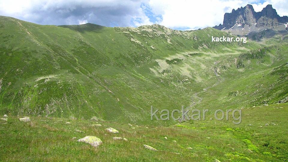 Kaçkar Yaylası - Altıparmak Dağları