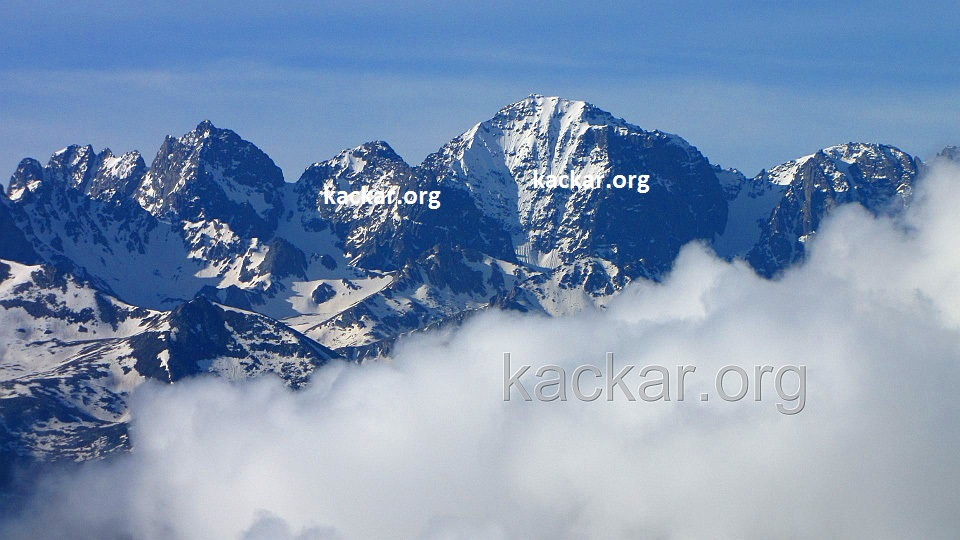 Huser Yaylası'ndan Kavrun Dağları