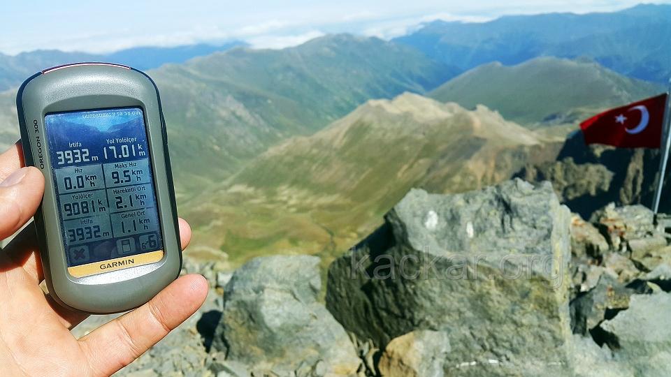 Kaçkar Dağı Zirve 3932 mt.