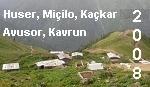 Kaçkar Dağları, Huser, Kaçkar, Avusor, Kavrun