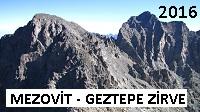 Mezovit Zirve 3711 mt. - Geztepe Zirve 3760 mt.